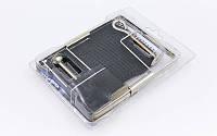 Сетка для настольного тенниса с винтовым креплением DONIC МТ-808306 PARTY (металл, NY,упак.блистер)