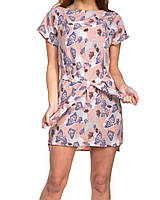 Платье с бабочками женское (супер софт)