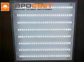 Led панель призматик 72W 6400K Panel Prismatic Евросвет, фото 2