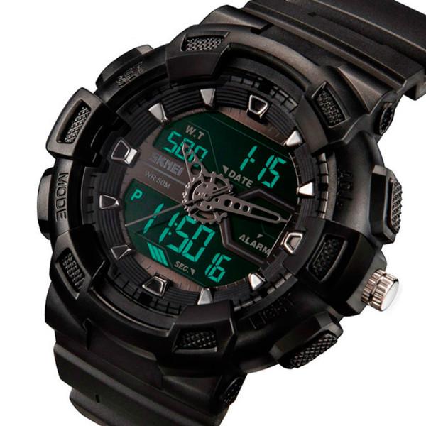 Мужские часы Skmei Black