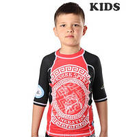 Рашгард дестский BERSERK for pankration APPROVED WPC KIDS red