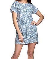 Платье с цветочным принтом женское (супер софт)