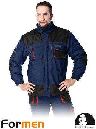 Куртка зимняя рабочая мужская FORMEN (утепленная спецодежда) LH-FMNW-J GBC, фото 2