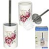 Туалетный ершик с подставкой 'Цветы' 33,5*10 см