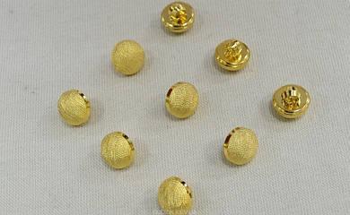 Итальянская пуговица цвет золото арт.10012G, цена за упаковку (50шт)