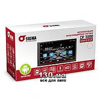 Медиа-станция Sigma CP 1000 на Android с WiFi, GPS навигацией и Bluetooth