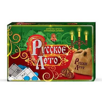 Настольная игра Русское лото , фото 2