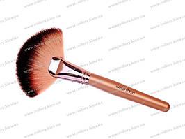 Кисть-веерная для макияжа №1 (Premium)