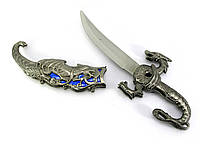 "Кинжал ""Дракон""  (25х8,5х2 см) сувенирное холодное оружие - подарок с мужским характером"