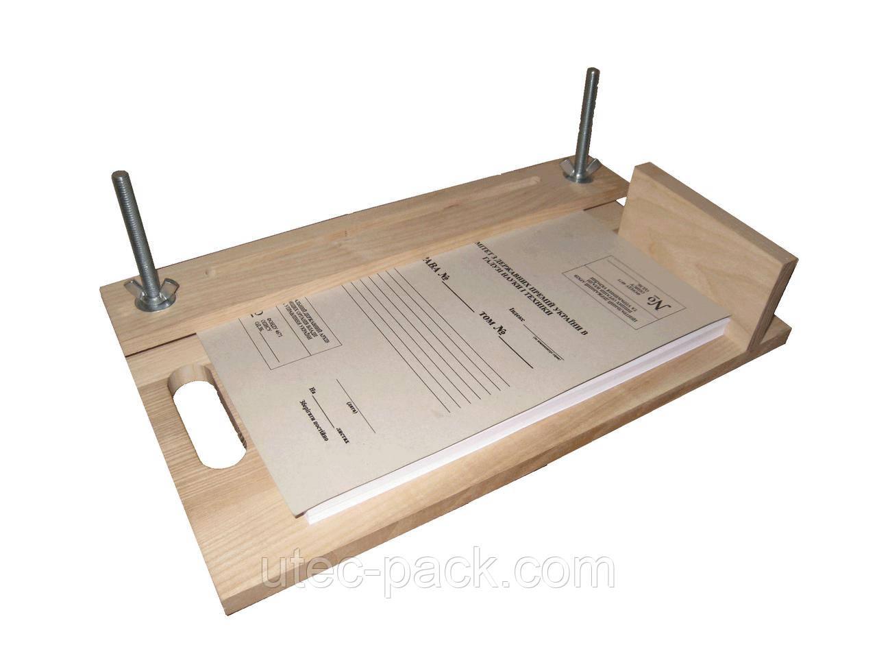 Офисный брошюровочно-переплетный станок ЦОД НТІ 400 х 230 х 120 мм светло-коричневый СП - 80