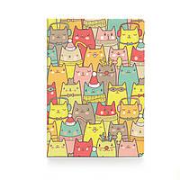 """Обложка для паспорта """"Зимние коты"""" / дизайнерская обложка на паспорт / эксклюзивная обложка на паспорт"""