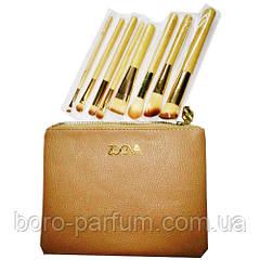 Zoeva Набор кистей в косметичке (8 штук) Gold
