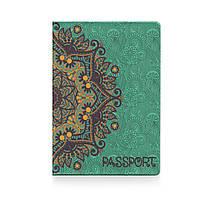 """Обложка для паспорта """"Золотые узоры"""" / дизайнерская обложка на паспорт / эксклюзивная обложка на паспорт"""