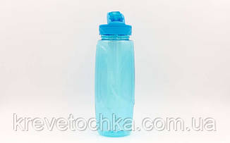 Бутылка для воды с камерой для льда спортивная FI-6436 750мл (TRITAN прозрач, цвета в ассортименте), фото 2