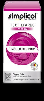 Краска Simplicol для смены цвета 150мл+400г закрепитель розовая, фото 2