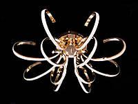 Светодиодная люстра с пультом X9701-12GD LED , фото 1