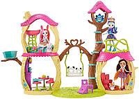 Игровой набор Энчантималс Лесной Домик Панды Дрю Enchantimals Playhouse Panda Set
