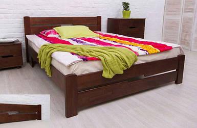 Кровать двуспальная Айрис с изножьем