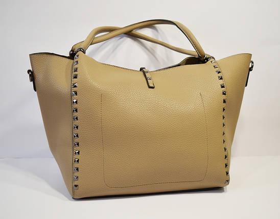 Сумка в сумке хаки Velina Fabbiano 6006, фото 2