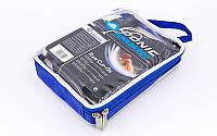 Сетка для настольного тенниса с клипсовым креплением DONIC МТ-808302 (металл, NY, PVC чехол)