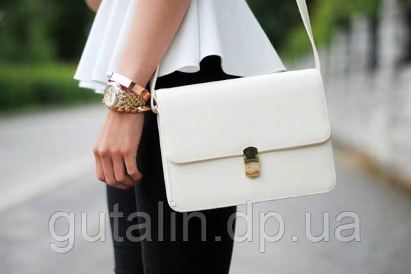 Восстановление идеально белого цвета сумки и других изделий из кожи