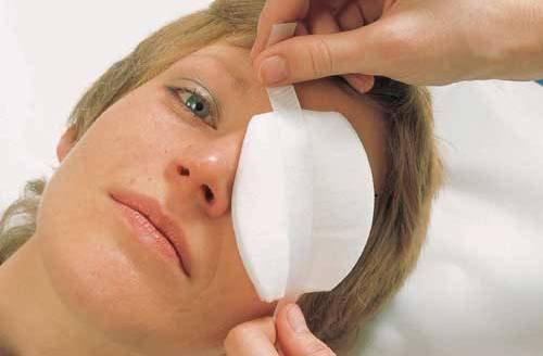 Бад nsp для лікування травм очей.Малюнок 1.