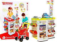 Детский супермаркет магазин 668-05 + тележка + аксесуари 2 ЦВЕТА НАЛИЧИЕ