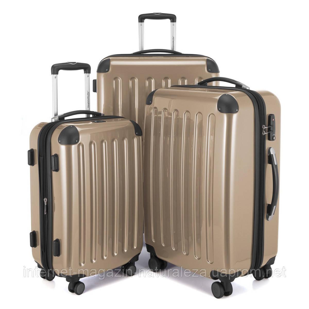 Набор чемоданов Hauptstadtkoffer Alex бронзовый