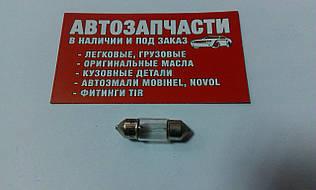 Лампа салона 28 мм 12V 10W вир-во Narva