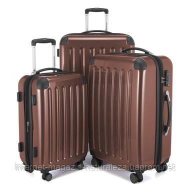 Набор чемоданов Hauptstadtkoffer Alex коричневый, фото 2