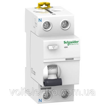 A9R50240 Дифференциалный выключатель нагрева iID K 2P 40A 30мА AC
