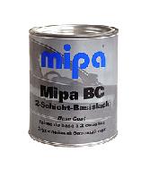 """600 Базовое покрытие """"металлик"""" Mipa """"Черный""""  1л"""
