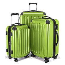 Набор чемоданов Hauptstadtkoffer Alex салатовый