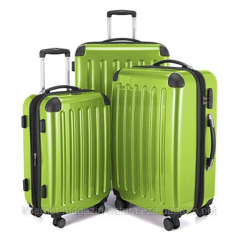 Набір валіз Hauptstadtkoffer Alex салатовий, фото 2