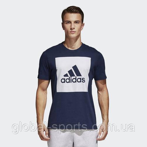 73cc496055da Мужская футболка Adidas Essentials Box Logo(Артикул:S98726) - магазин  Global Sport в
