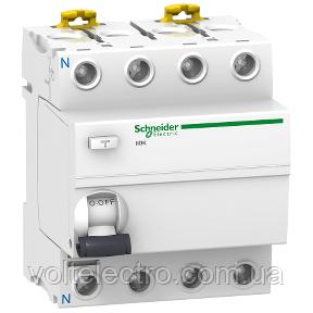 A9R50425 Дифференциальный автоматический выключатель iID K 4P 25A 30мА AC-ТИП