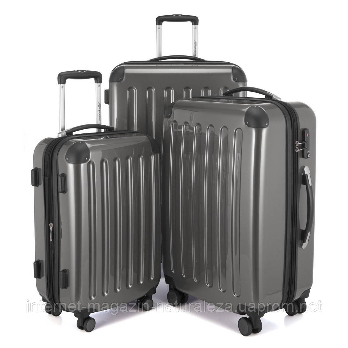 Набор чемоданов Hauptstadtkoffer Alex титановый