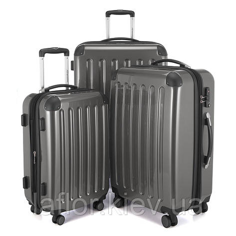 Набор чемоданов Hauptstadtkoffer Alex титановый, фото 2