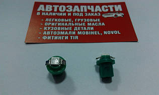 Патрон щитка приладів 12V діод зелений