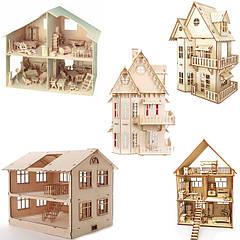 Кукольные деревянные домики