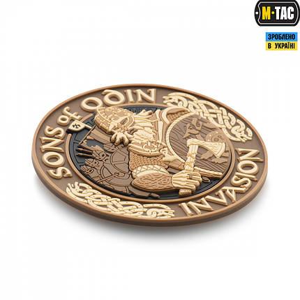 M-Tac нашивка Sons of Odin 3D ПВХ Coyote, фото 2