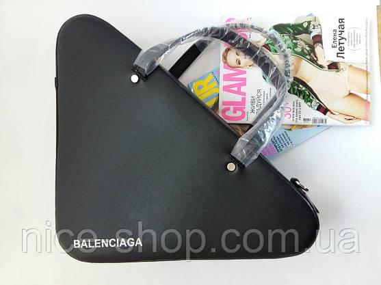 Треугольная сумка Люкс-реплика Balenciaga, фото 3