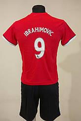 Футбольная форма детская Manchester Ibrahimovic 2017-18