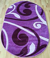 Красивый фиолетовый ковер в детскую Club