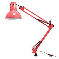 Настольный светильник 60W E27 красный BUKO