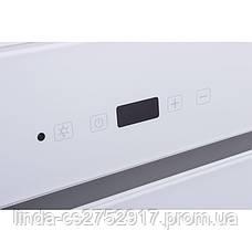 Кухонная вытяжка TREVI 90 WH (1000) TC IT VentoLux, наклонная кухонная вытяжка, фото 2