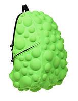Рюкзак городской MadPax Bubble Full Neon Green (зеленый неон, 33 л), фото 1