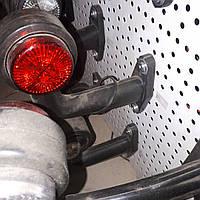 Габаритные огни для грузовиков Рожки кривые, Фонарь габаритный прицепа, габариты рожки мини