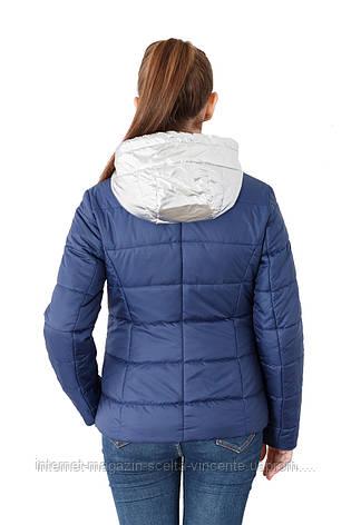 Женская демисезонная куртка-трансформер 42-52 SV 00-10, фото 2