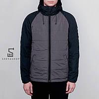 Демисезонная мужская куртка Gard Jacket-100 серо-чёрная, фото 1